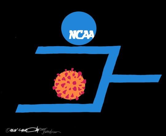 NCAA vs. coronavirus.
