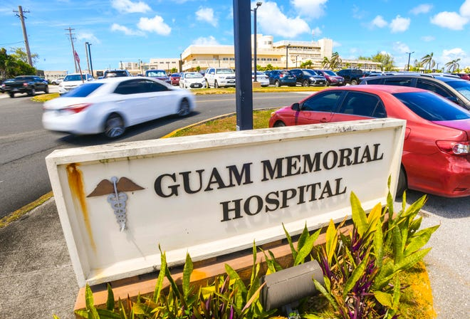 The Guam Memorial Hospital on Friday, March 13, 2020.