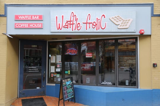 Waffle Frolic is located on the Ithaca Commons.