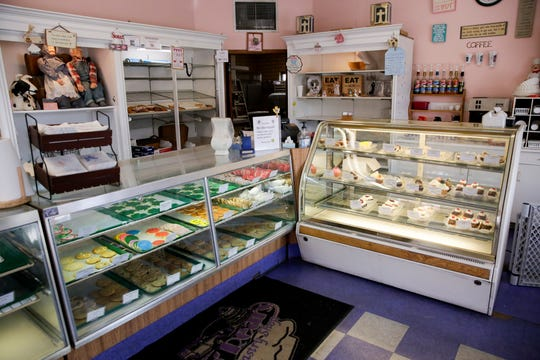 Inside O'Rear's Pastry Shop, 321 N. Ninth St., Friday, March 13, 2020 in Lafayette.