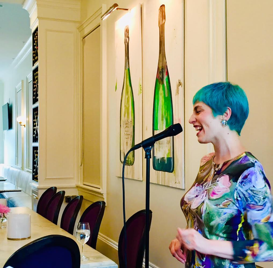 Voice instructor and singer Meryl Zimmerman, 36, taught her last in person voice lesson on Friday as New Orleans faces closures because of the coronavirus outbreak.