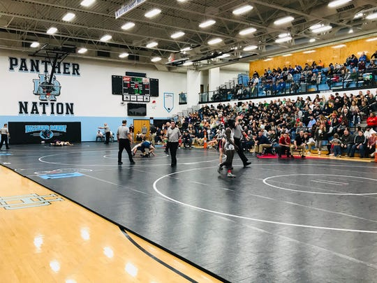 Three of Lancaster's wrestlers - Logan Agin, Aidan Agin and Jacob Reed - all won Division I district titles at Hilliard Darby last Saturday to qualify for the state tournament. It may have been their last matches of the season after the state tournament was postponed.