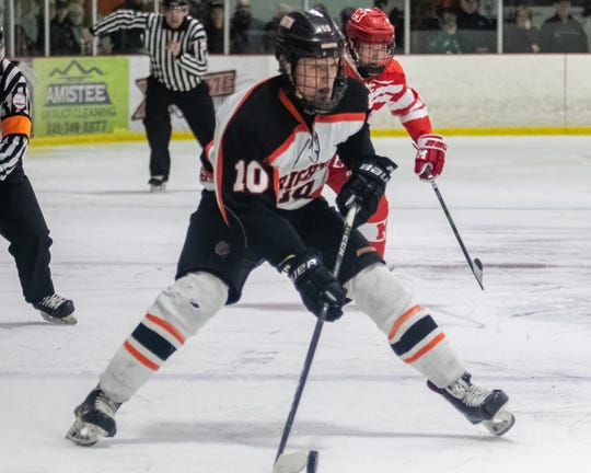 Brighton's Will Jentz was a four-year varsity hockey player and two-time state champion.