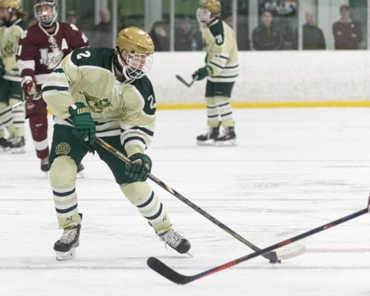 Howell's Dominc Rossi led Livingston County defensemen in scoring.