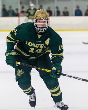 Howell's Stefan Frantti had 22 goals and 37 assists this season.
