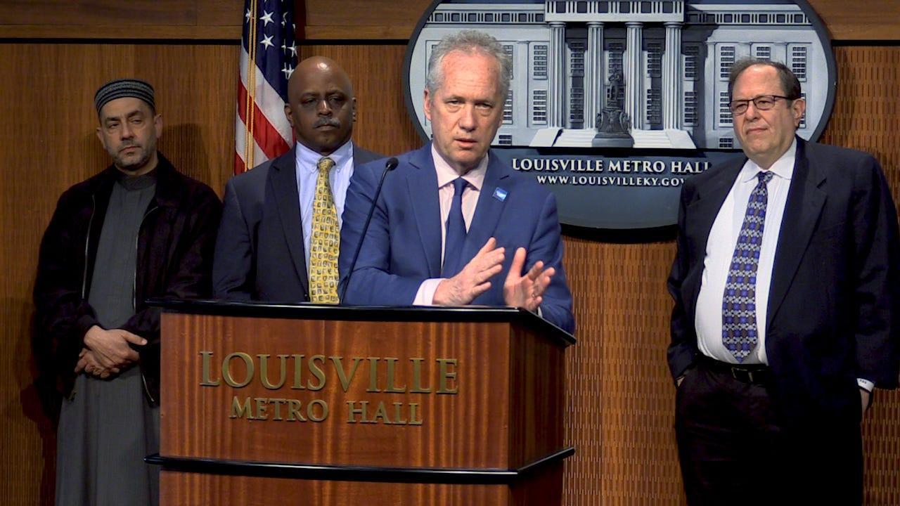 Coronavirus in Louisville: Mayor Greg Fischer tests negative