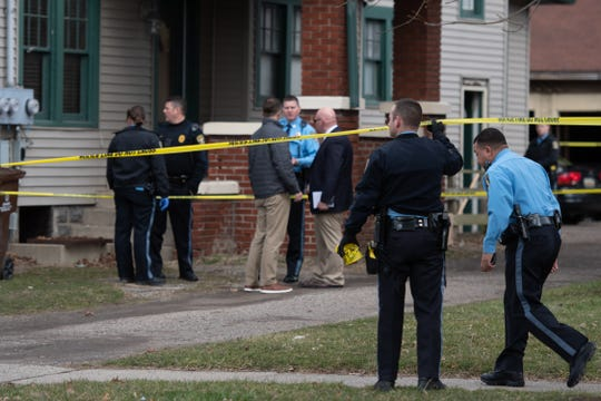 A 37-year-old woman was killed in a shooting on the 700 block of West Ionia Street.  A man was sent to the hospital with a gunshot wound and is in stable condition.