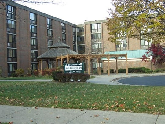 South Washington Park, a public housing complex managed by the Lansing Housing Commission, appears in a file photo.