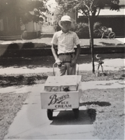 Lowell Sherer, as a fourth grader, delivered Bowe's Ice Cream and editions of The Marion Star and Columbus Dispatch.