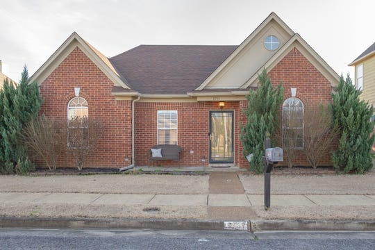 A first-time homebuyer, Andrea Humphrey purchased this Cordova home because it is close to her job and in an area with great school options.
