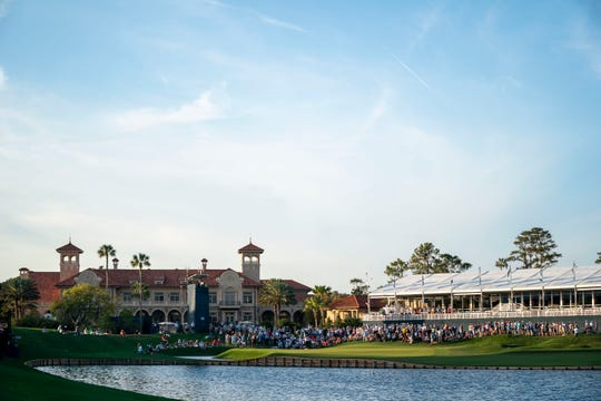 The PGA cancelled The Players Championship golf tournament at  TPC Sawgrass Thursday.