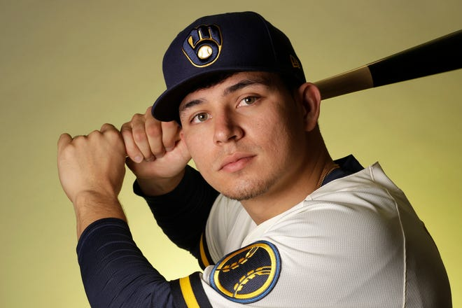 Brewers infielder Luis Urias had offseason surgery on his left hand.