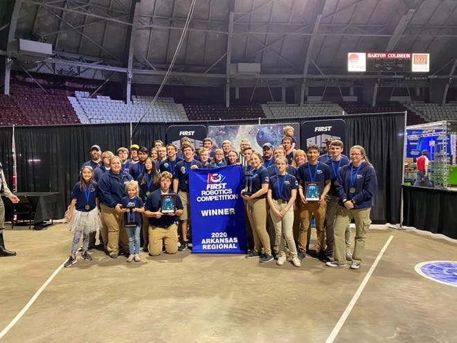 Mountain Home's Bomb Squad recently won a robotics tournament in Little Rock.