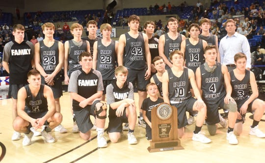 2020 Class 1A State runner-up Izard County Cougars