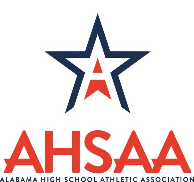 AHSAA logo.