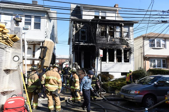 Residential fire at 15 Lincoln Terrace in Belleville