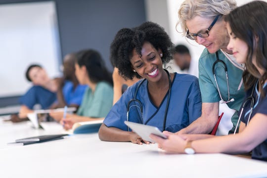 For a flexible career path, consider registered nursing.