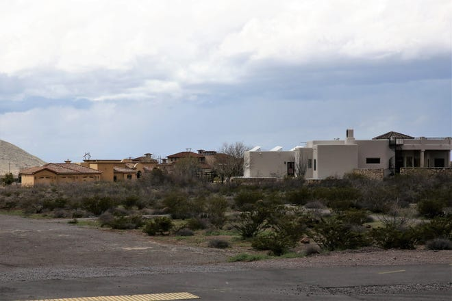 Some residents who have invested in expensive custom homes in the Talavera neighborhood of Las Cruces have opposed a new El Paso Electric substation planned for Soledad Canyon Road near these homes. Friday, March 13, 2020.