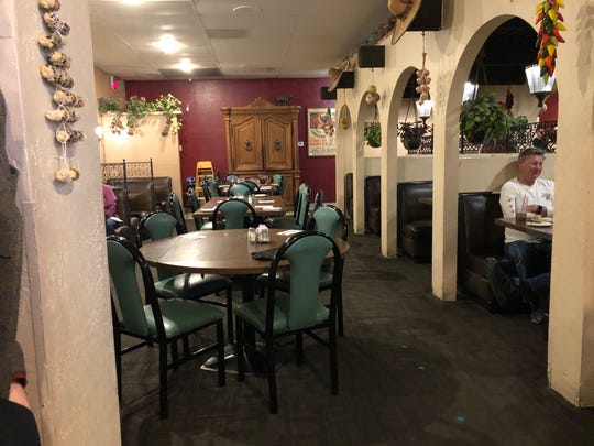 There was no wait at our favorite Mexican restaurant, even with a party of seven.