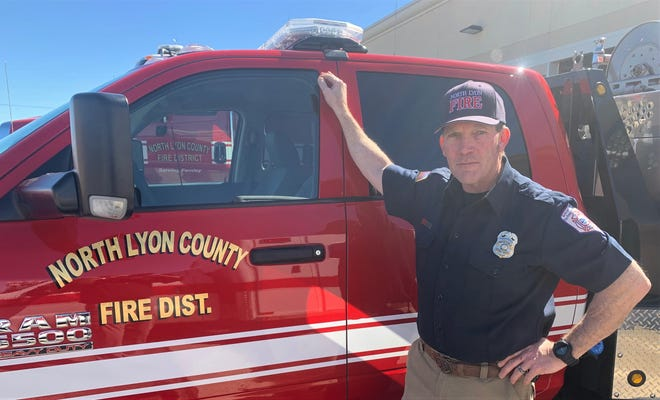 Duke Piper will serve as wildland coordinator for North Lyon County Fire Protection District.