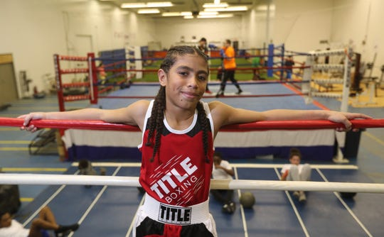 Eleven-year-old Javier Mitchell has caught the boxing bug after spending time at the Fight Factory in Rochester.