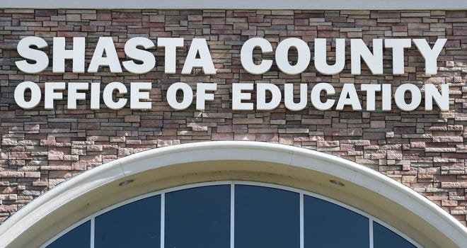 The Shasta County Office of Education's Professional Development Center on Innsbruck Drive in Redding.