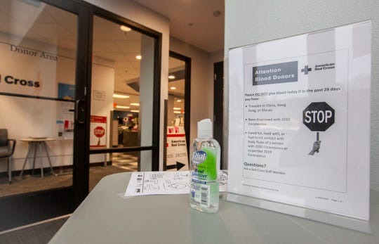 The American Red Cross has protocols in place like taking the donor's temperature and hand sanitization to screen potential blood donors before they enter the Salem Blood Donation Center at 1860 Hawthorne Ave NE in Salem.