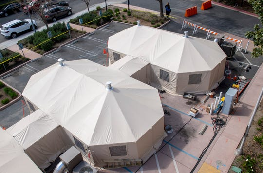 Salinas Valley Memorial Healthcare System is gearing up their emergency staff and setting up tents in order to take care of any patients that might be exhibiting symptoms of the COVID-19. The emergency staff will be equipped with PAPR's gear and be given other resources to better help the patients.