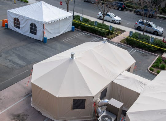 Salinas Valley Memorial Healthcare System is setting up triage and negative pressure tents for any patients experiencing symptoms tied with COVID-19.