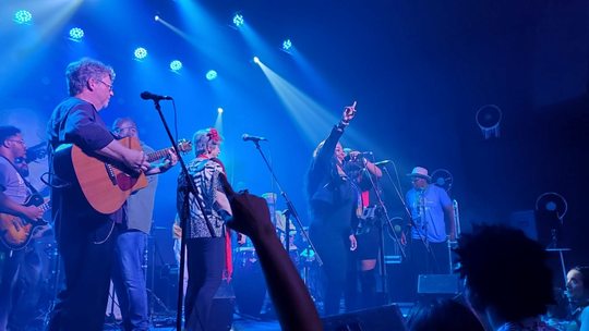 In January, Lili Forbes traveled to the 35th edition of the International Jazz Plaza Festival in Havana, Cuba with The Common 'Taters Southern Funk Band.
