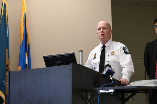 Jeff Miller, 911 operations chief, speaks about precautions emergency responders in New Castle County are taking in order to address the spread of coronavirus on Friday, March 13.
