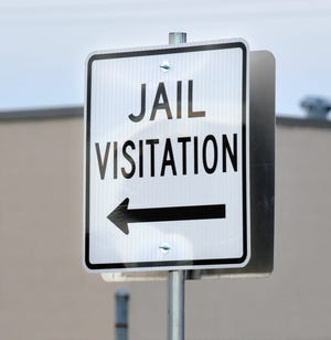 Inmate visitation has been temporarily suspended at the Baxter County Jail, Sheriff John Montgomery announced Friday.