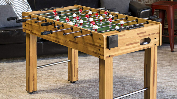 Feel free to name your foosball players.