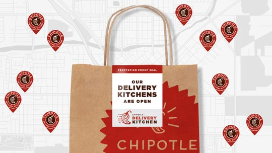 Chipotle is offering free delivery from March 15-31.