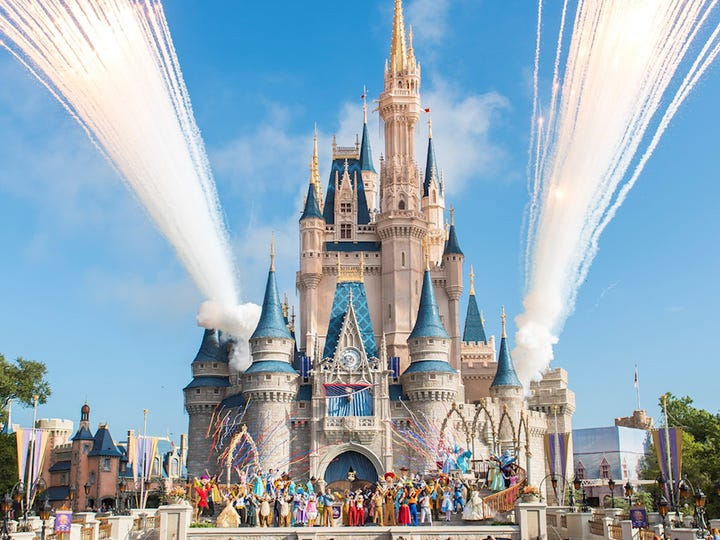 Orlando's Disney World, Disneyland Paris, Disney Cruise lines and Universal Studios are shut down temporarily due to the coronavirus pandemic.