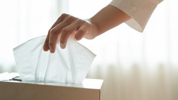 A box—or travel pack—of tissues has a multitude of uses.