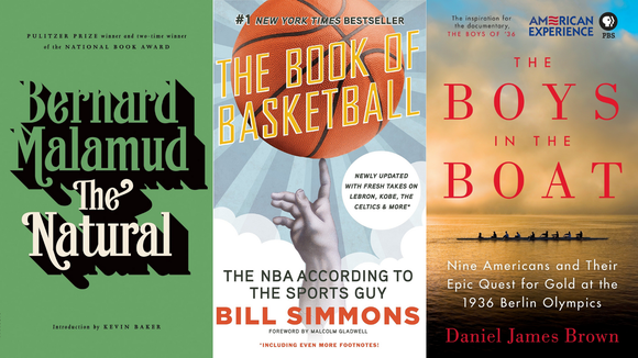 Curl up with a nice book about sports and pretend you're there in real-time.