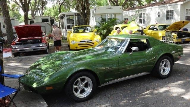 Quail Run RV Resort in Florida hosts an annual local auto show.