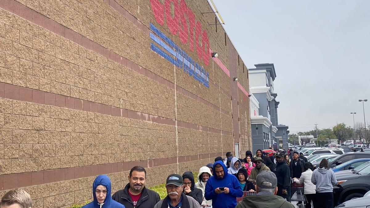 Coronavirus panic shopping: Toilet paper shortage at Walmart, Target