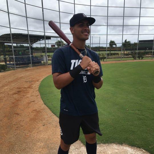 Tigers prospect Roberto Campos.