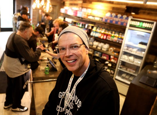 Jerry Millen, is the owner of Greenhouse, one of the first Oakland County recreational marijuana dispensary that opened up on Saturday morning, March 14, 2020.