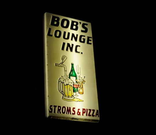 Bob's lounge is located on North Fares Avenue, just north of Columbia Street.