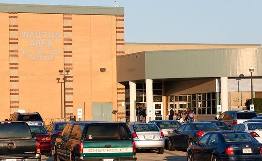Waupun High School in Waupun. Wednesday October 7, 2015.