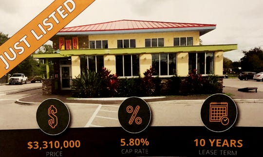 PDQ at 12499 South Cleveland Ave., Fort Myers. A few of the listings Jim Shiebler, has for sale.  While the business isn't for sale, the land and the building and the lease is.
