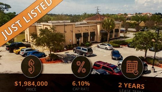 Ruby Tuesday at 21301 Town Commons Drive, Estero. A few of the listings Jim Shiebler, has for sale.  While the business isn't for sale, the land and the building and the lease is.