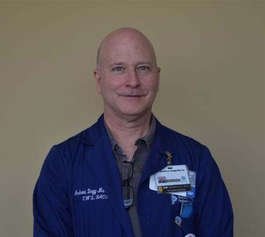 Dr. Andrew Dagg-Murry, the infectious disease physician at Fairfield Medical Center.