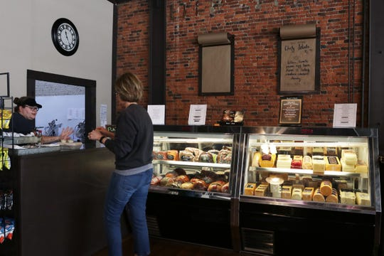 Customers continue to visit the Cynthiana Cheese Shop amid the coronavirus outbreak.