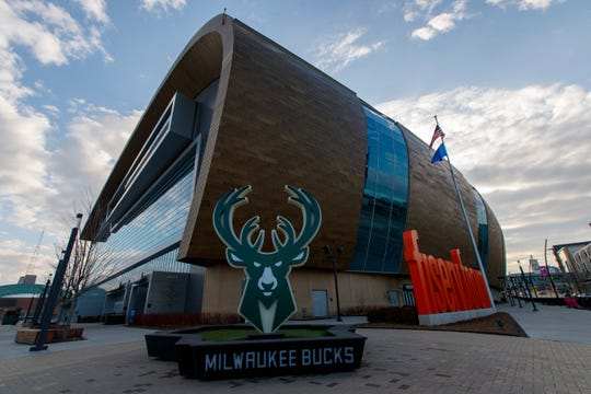 The NBA shutdown of at least 30 days will cost the Bucks -- the the hourly workers at Fiserv Forum -- about 10 home games.