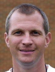Robert Johnson, Then St. James head football coach on August 12, 2005.