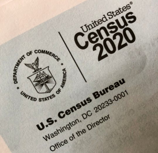 U.S. Census forms are arriving in mailboxs, and the questions can be filled out online or by phone.